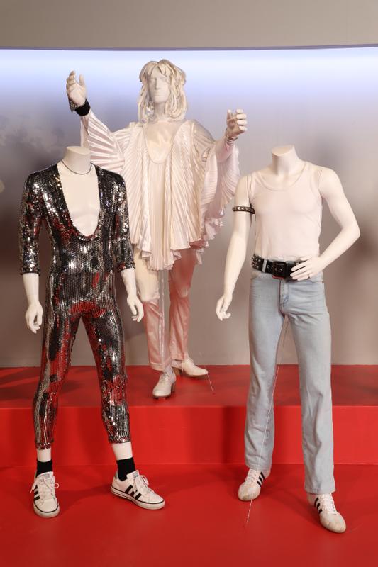 Bohemian Rhapsody costumes by Julian Day. (Photo: Alex J. Berliner/ABImages)