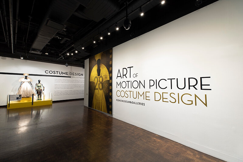 "A view of the 28th annual ""Art of Motion Picture Costume Design"" exhibition, at the FIDM Museum, Fashion Institute of Design & Merchandising, Los Angeles. (Photo: Alex J. Berliner/ABImages)"