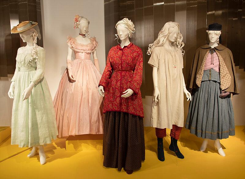 """""""Little Women"""" costumes by Jacqueline Durran (Photo: Alex J. Berliner/ABImages)"""