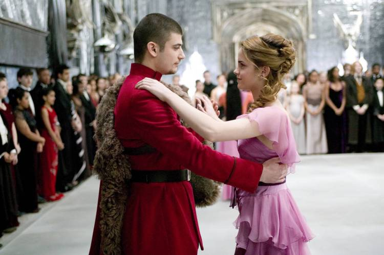 Designing The Yule Ball Harry Potter And The Goblet Of Fire The Art Of Costume The entire castle seemed to vibrate wi. yule ball harry potter and the goblet