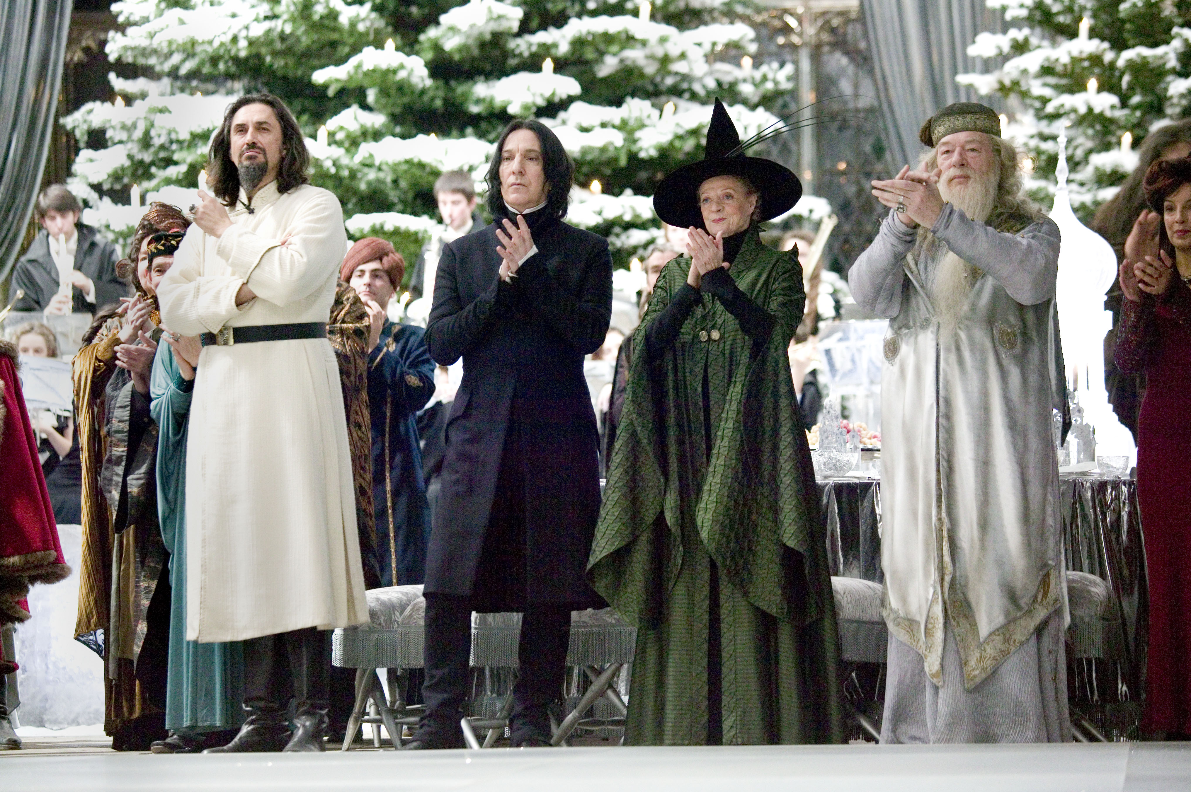 Designing The Yule Ball Harry Potter And The Goblet Of Fire The Art Of Costume